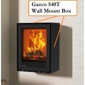 Stovax ECODESIGN Elise 540 Glass Wood Burning/Multi-fuel Inset Cassette Stove, 5.0kW (3-7kW)- Optional Extra Frames
