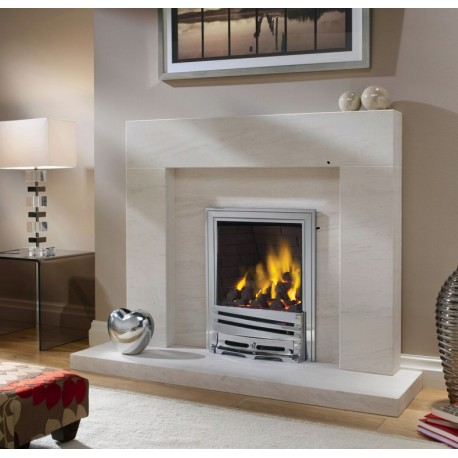 Excelsior Palmerstown Gas Fire High Efficiency Open Fronted Radiant Box Inset Gas Fire . Ekofire 1303035