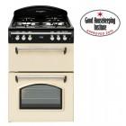 Gas Cooker Cook Master Gourmet 60 cm Range Style Gas Cooker TGCLAS60 Cream 60cm Wide.