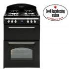 Gas Cooker Cook Master Gourmet TGCLAS60 Black 60cm Wide.