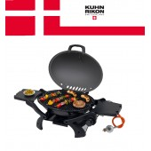 Next Day Delivery Cheap Portable Gas BBQ Black Barbeque Swiss Style Tabletop LPGtgcvk900 Bottled Gas BBQ