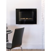 Flueless Gas Fire Wall Mounted Ekofire TGC15060 Gas Fire