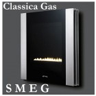 Gas Fire S M E G Classica Linear Series L31LIN Portrait Style Flueless Wall Mounted Gas Fire for Natural Gas