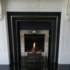 Gazco Logic Log HE CF Winchester High Efficiency (84%) Glass Fronted Gas Fire. NGLHE-CF