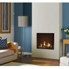 Gas Fire Gazco Riva2 750 Edge High Efficiency (82%) Conventional Flue Chimney Gas Fi. GRV2750cfre.
