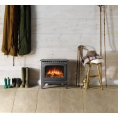 Electric Fire Gazco Marlborough 2 Small, with Remote Control and 2kW Heater GSTE