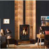Gazco Gas Vogue Midi, High Efficiency (93%) Contemporary Gas Stove.