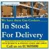 NEXT DAY DELIVERY Gas Cooker Hotpoint Capri TGCHD5G00CC 50CM - Stainless Steel