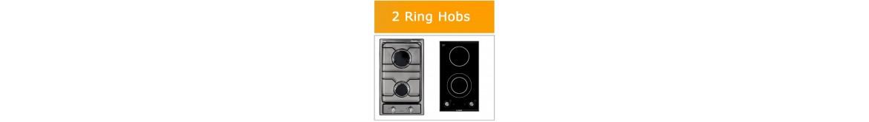 2 Ring Domino Hobs