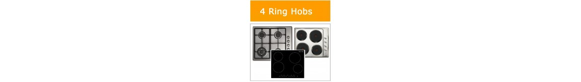 4 Ring Gas Hobs