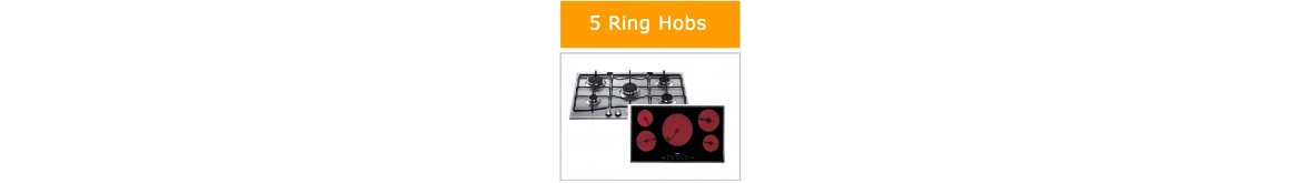 5 Ring Gas Hobs