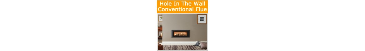 Chimney Hole in the Wall Gas Fires