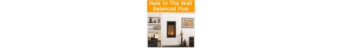 Balanced Flue Hole in the Wall Gas Fires
