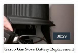 Gazco Gas Stove Battery Change for Marlborough, Huntingdon, Vogue, Clarendon,Ashdon, Manhattan Gas Stove
