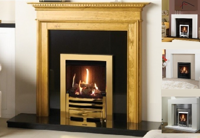 The Gazco Logic Log He High Efficiency Gas Fire